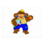 Patchwork Monkey Post Cards