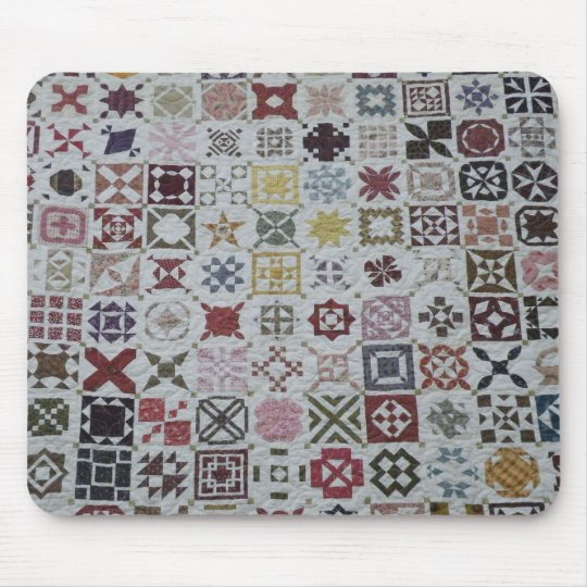 Patchwork mousepad