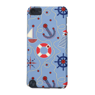 Patchwork Nautical Design iPod Touch 5G Cover