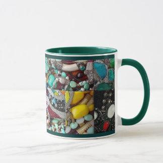 Patchwork of Beads Mug