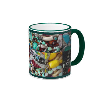 Patchwork of Beads Mug