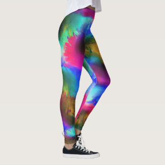 Patchwork of Colours Leggings