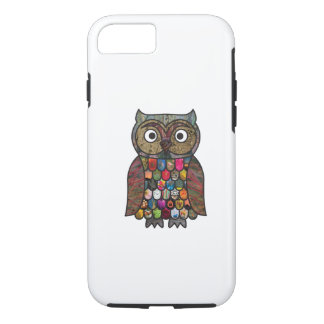 Patchwork Owl iPhone 7 Case