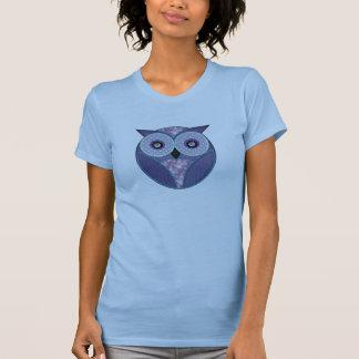 Patchwork Owl Tshirt