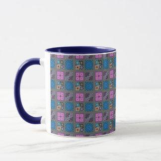Patchwork Pattern Combo Mug