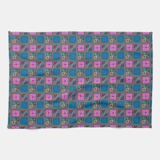 """Patchwork Pattern Kitchen Towel 16"""" x 24"""""""