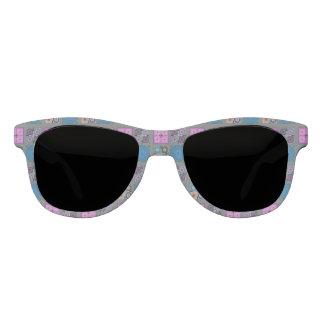 Patchwork Pattern Premium Smoke Sunglasses