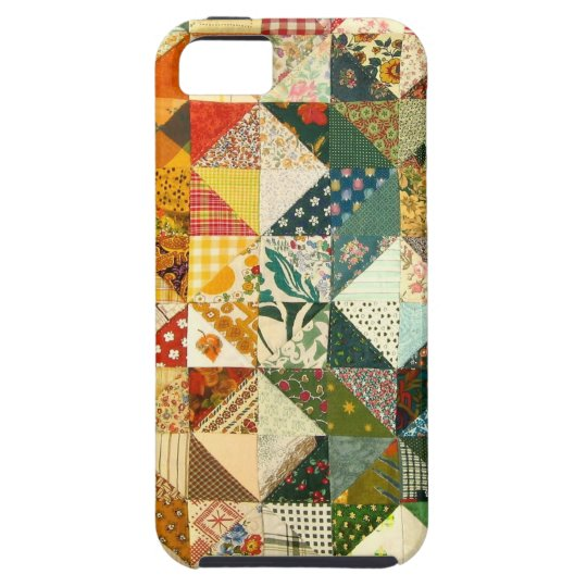 Patchwork Quilt Country Chic Unique iPhone 5 Case