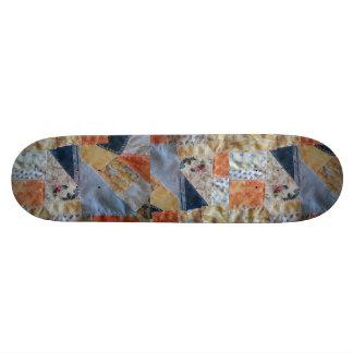 Patchwork Quilt Granny Skateboard