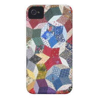 Patchwork Quilt iPhone 4 Case-Mate Case