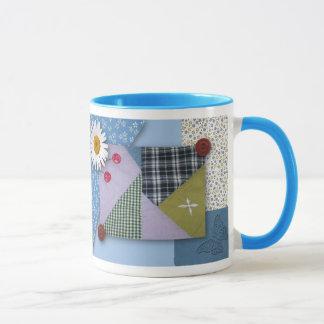 Patchwork Quilt Look Mug