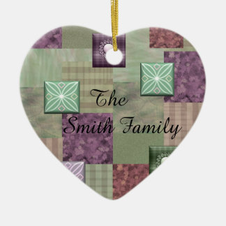 Patchwork Quilt Ornament