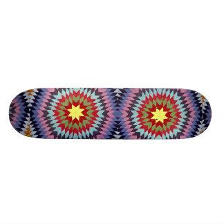 Patchwork quilt skate board