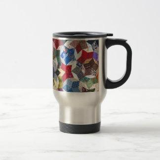 Patchwork Quilt Travel Mug
