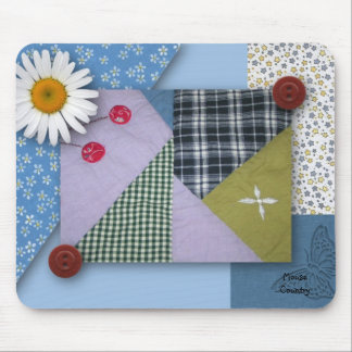 Patchwork Quilted Mousepad
