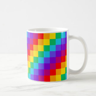 Patchwork Rainbow Classic Mug