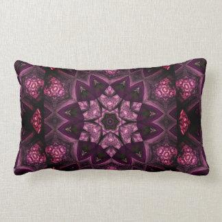 Patchwork Sangria Kaleidoscope Lumbar Cushion