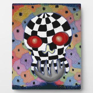 Patchwork Skull Plaque