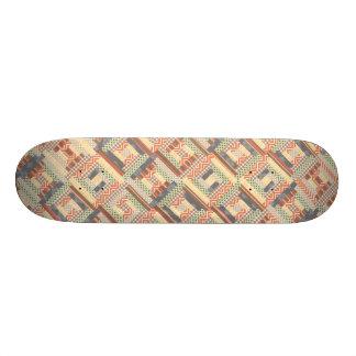 Patchwork Squares 19.7 Cm Skateboard Deck