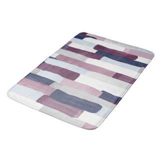 Patchwork Stripe Bath Mat