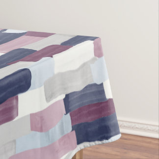 Patchwork Stripe Tablecloth