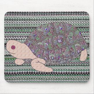 Patchwork Tortoise Mousepad