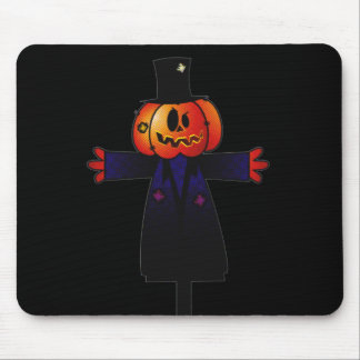 PATCHY PUMPKINHEAD SCARECROW W/ TOPHAT MOUSE PAD