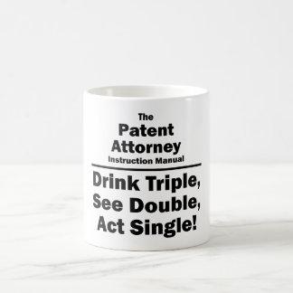 patent attorney basic white mug
