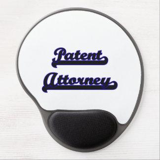 Patent Attorney Classic Job Design Gel Mouse Pad