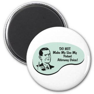 Patent Attorney Voice Magnet