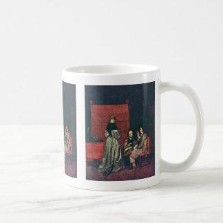 Paternal Admonition,  By Gerard Ter Borch Coffee Mugs