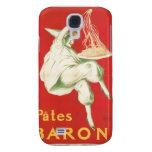 Pates Baroni Vintage Food Ad Art Galaxy S4 Cover