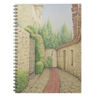 Path in Eze, Cote D'Azur Pastel Notebook 80 pages