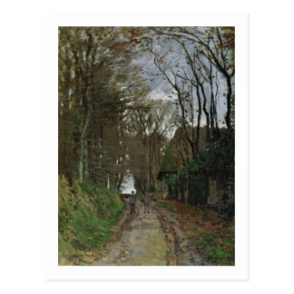 Path in Normandy (oil on canvas) Postcard