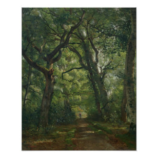 Path in the Forest, 1864 Poster