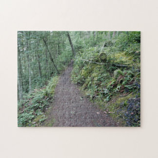 Path in the forest puzzle