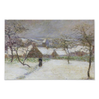 Path in the Snow by Gustave Loiseau Print