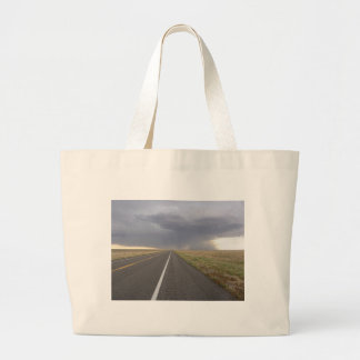 Path Into the Storm Jumbo Tote Bag