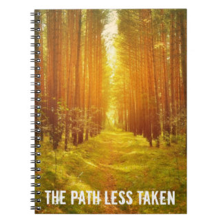 Path Less Taken Notebook