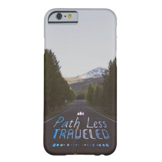 Path Less Traveled Barely There iPhone 6 Case