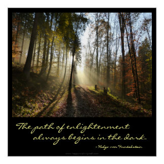 Path of Enlightenment Motivation Poster