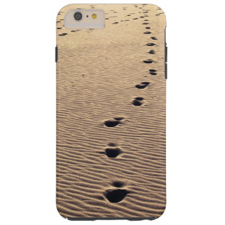 Path of footprints going astray tough iPhone 6 plus case