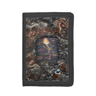 Path of Life Burnt Offering Trifold Wallets