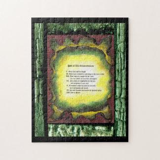 Path of Life Commandments Puzzle
