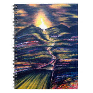Path of Life Spiral Notebook