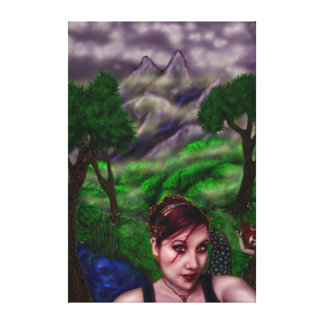 Path of the Vampire, huge wrapped canvas Gallery Wrapped Canvas