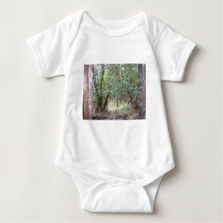Path Through the Forest Baby Bodysuit