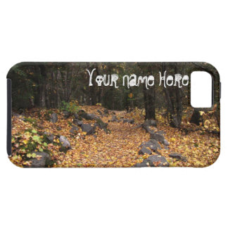 Path Through the Forest; Customizable Tough iPhone 5 Case
