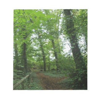 Path through the Green Forest Notepad