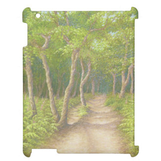 Path Through Trees, Leith Hill Pastel iPad Case